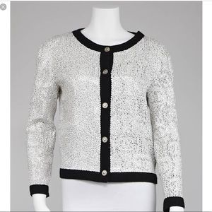 Rare Chanel Cashmere Seqin Jacket Spring 2008
